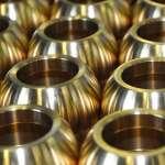 CNC-gedraaide stukken