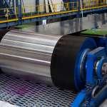 Cinta de aço para a indústria de processamento de madeira