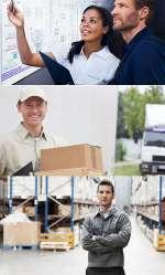 Vestuários de trabalho para indústria logística