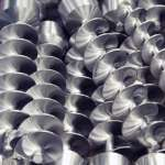 Förderschnecke für Verpackungsmaschinen, Pharmaindustrie